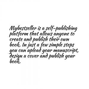 example of bad font for self-published authors