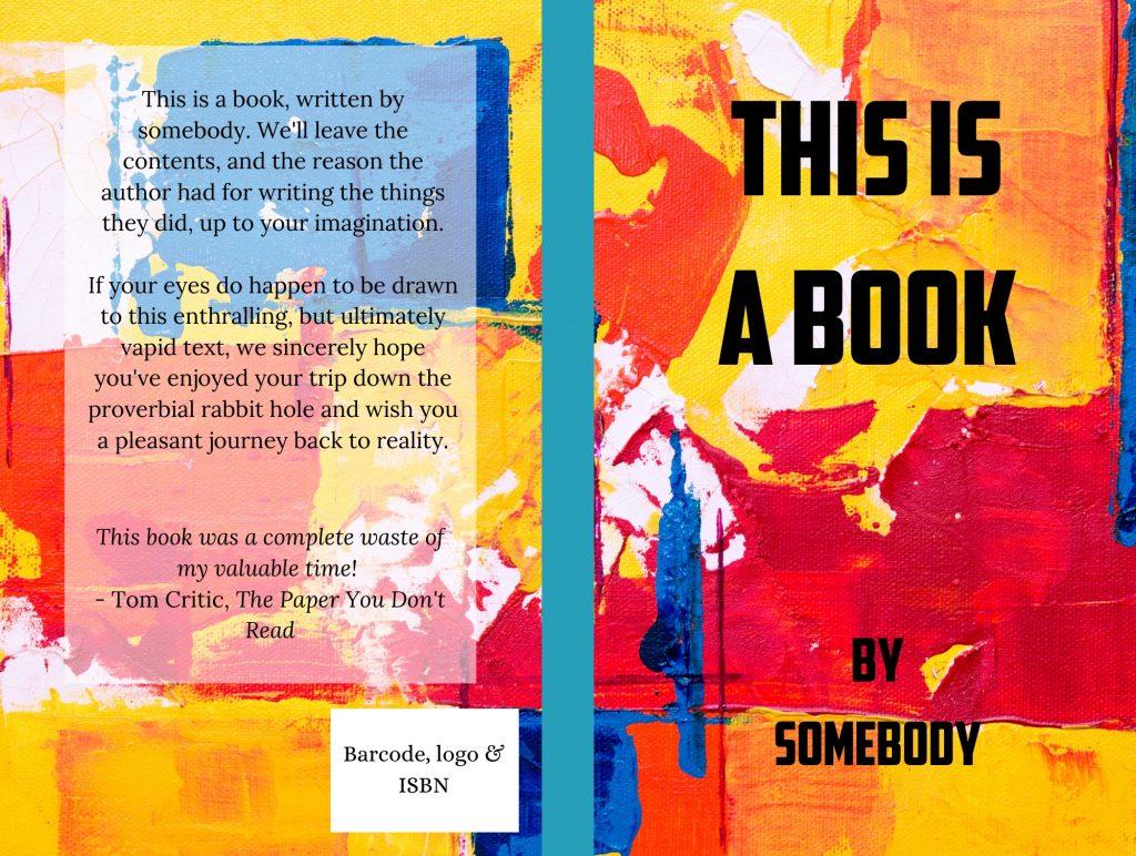 Diseño de portada de tu libro con canva